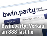 Screenshot der Website von bwin.party