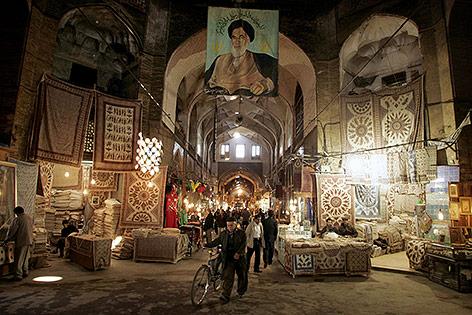 Bazar in Isfahan im Iran