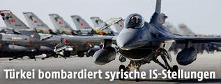 F-16 Jets der türkischen Luftwaffe