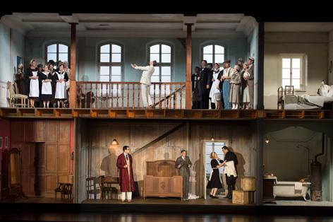 "Szene aus ""Le nozze die Figaro"" bei den Salzburger Festspielen"