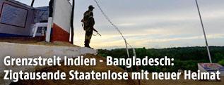 Indischer Grenzposten