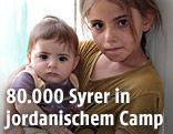Zwei Flüchtlingskinder
