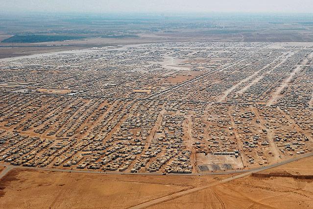 Flüchtlingslager Saatari