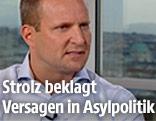 Hans Bürger und NEOS-Chef Matthias Strolz