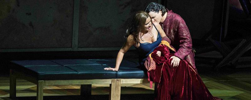 """Szene aus """"Il trovatore"""" bei den Salzburger Festspielen"""