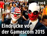 Besucher der Gamescom 2015 in Köln