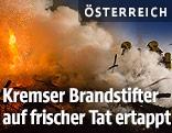 Feuerwehreinsatz in Krems