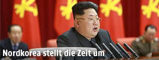 Der nordkoreanische Diktator Kim Jong Un