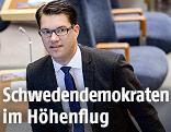 Chef der Schwedendemokraten, Jimmie Akesson