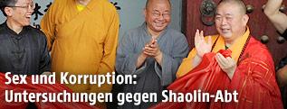 Der Abt des Shaolin Tempels Shi Yongxin
