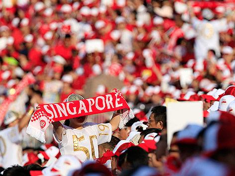 Feier zum 50. Jubiläum in Singapur