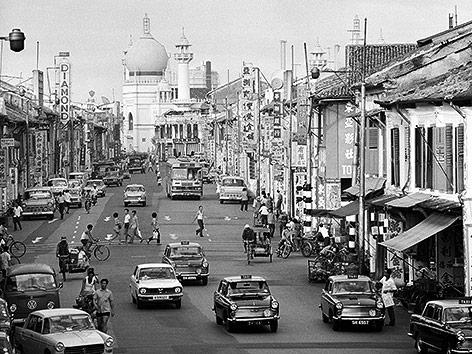 Kampong Glam im Jahr 1972