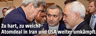 US-Außenminister John Kerry spricht mit Irans Außenminister Zarif