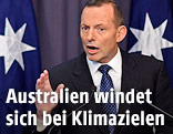 Australiens Premier Tony Abbott