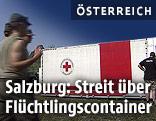 Container vom Roten Kreuz