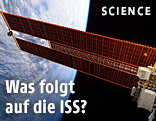 Solarflügel an der ISS