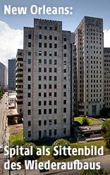 Das ehemalige Charity Hospital in New Orleans