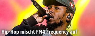 Hip-Hoper Kendrick Lamar