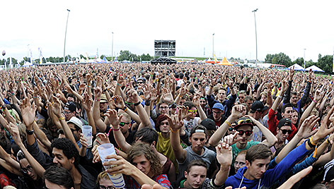Fans beim Frequency-Festival 2014