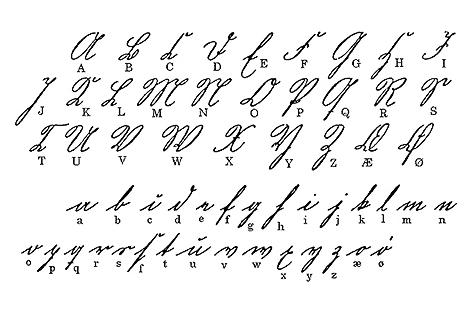Kurrentschrift ca. 1800