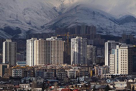 Hochhäuser im Nordwesten Teherans