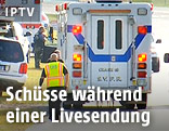 Krankenwagen am Tatort
