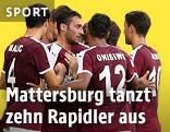 Jubel von Mattersburg