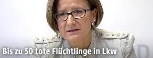 Innenministerin Mikl-Leitner