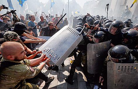 Ausschreitungen in Kiew