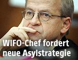 Chef des Wirtschaftsforschungsinstitutes (WIFO), Karl Aiginger