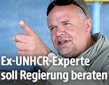 UNHCR-Sonderbeauftragte Kilian Kleinschmidt