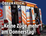 Sonderfahrzeug der Berufsrettung Wien
