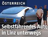 Selbstfahrendes Auto in Linz