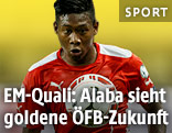 David Alaba im ÖFB-Teamdress