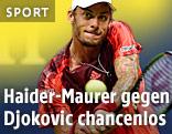 Tennisspieler Haider-Maurer
