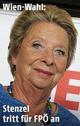 Die derzeitige Bezirksvorsteherin für den ersten Bezirk in Wien, Ursula Stenzel