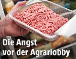 Fleisch in einem Supermarkt