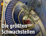 Treppen im EU-Parlament