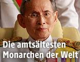 Thailands König Bhumibol Adulyadej