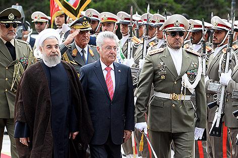 Heinz Fischer und Hassan Rouhani