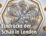 """Die Installation """"Bicycle Chandelier"""" des chinesischen Künstlers Ai Weiwei"""