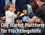 Flüchtlingskinder in Nickelsdorf