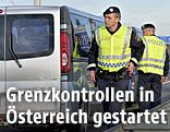Polizei führt Grenzkontrollen durch