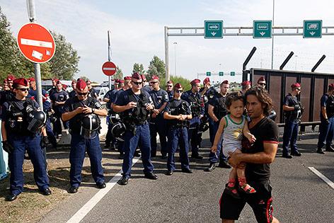Ungarische Polizisten