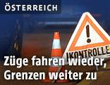 Grenzkontrolle an deutsch-österreichischer Grenze