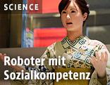 """Roboter """"Aiko Chihira"""" arbeitet als Empfangsdame in einem Hotel"""