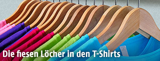 T-Shirts in verschiedenen Farben