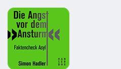 """Buchcover zu """"Die Angst vor dem Ansturm"""" von Simon Hadler"""