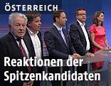 Spitzenkandidaten der Landtagswahl in Oberösterreich