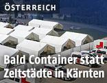 Zeltstadt in Krumpendorf
